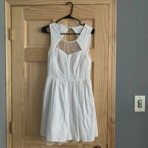White Women Dress!